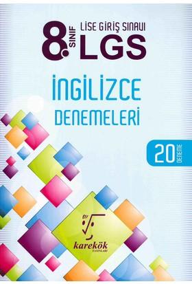 Karekök 8. Sınıf LGS İngilizce 20 Deneme