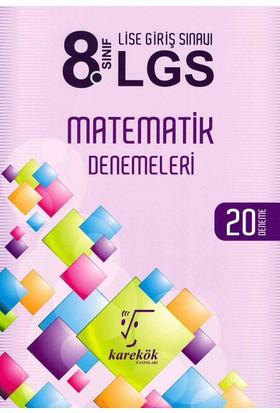 Karekök 8. Sınıf LGS Matematik 20 Deneme