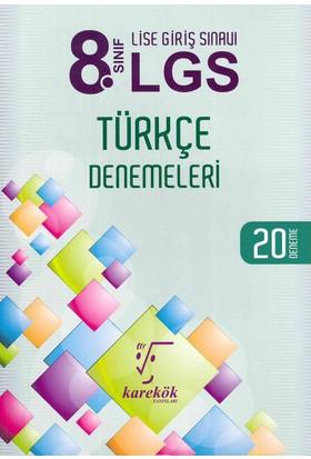 Karekök 8. Sınıf LGS Türkçe 20 Deneme