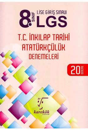 Karekök 8. Sınıf LGS İnkılap T. Ve Atatürkçülük 20 Deneme