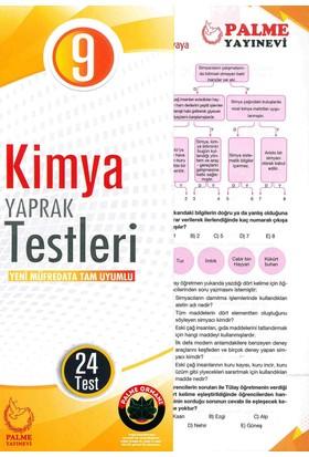 Palme 9. Sınıf Kimya Yaprak Testleri (24 Test)