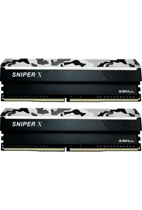 G.Skill SniperX Gri Kamuflaj 16GB (2X8GB) 3000Mhz DDR4 Ram (F4-3000C16D-16GSXWB)
