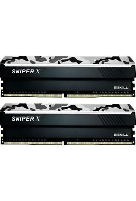 G.Skill SniperX Gri Kamuflaj 16GB (2X8GB) 3200Mhz DDR4 Ram (F4-3200C16D-16GSXWB)