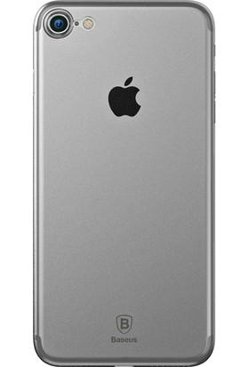 Baseus Apple iPhone 7 Şeffaf Silikon Kılıf + Ekran Koruyucu