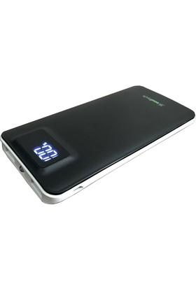 Soultech 10.000 mAh Taşınabilir Şarj Cihazı Powerbank - Siyah