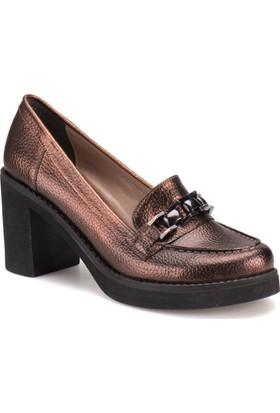 Butigo A4161005 Bronz Kadın Ayakkabı