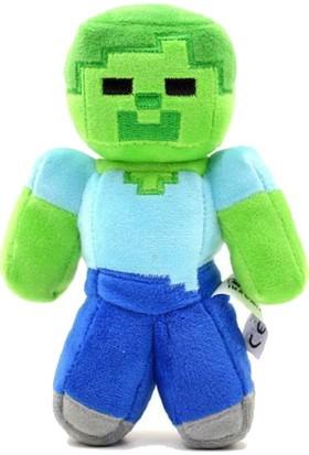 Minecraft Peluş Zombie Karakter Oyuncak 18 cm