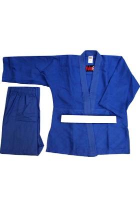 Yuko Judo, Aikido Elbisesi Mavi