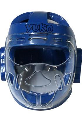 Yuko Cam KoruyuculuTaekwondo Kaskı