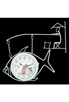 İstasyon Saat Balıkçı Beyaz