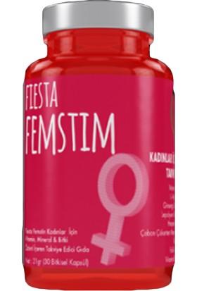 Fiesta XT Kadınlar İçin Takviye Gıda (30 Bitkisel Kapsül)