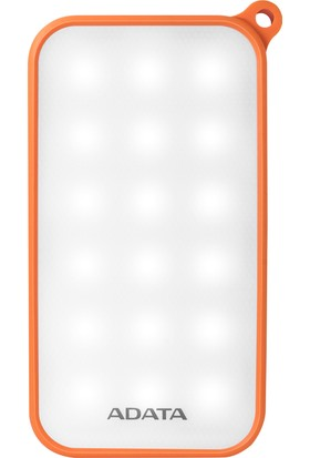Adata LED -IP54- 8000MAH Powerbank Orange AD8000L-5V-COR