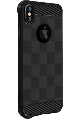 Buff Apple iPhone X Black Armor Kılıf