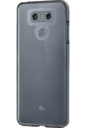 Buff LG G6 Air Hybrid Kılıf Smoke Black