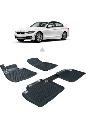 Otom BMW F30 3 Serisi 2012-Sonrası Araca Özel 3D Paspas