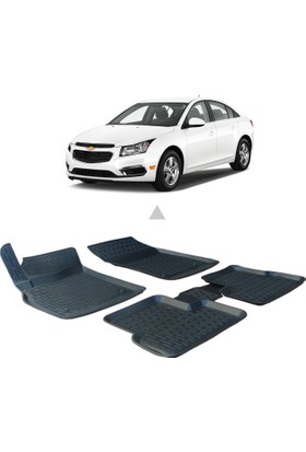Otom Chevrolet Cruze 2009-2014 Arası Araca Özel 3D Paspas
