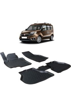 Otom Fiat Doblo 2010-Sonrası Araca Özel 3D Paspas