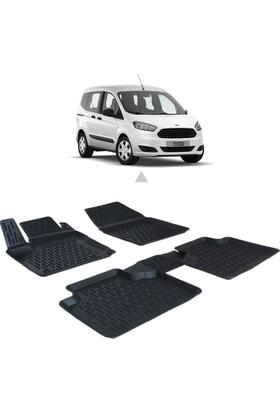 Otom Ford Courıer 2014-Sonrası Araca Özel 3D Paspas