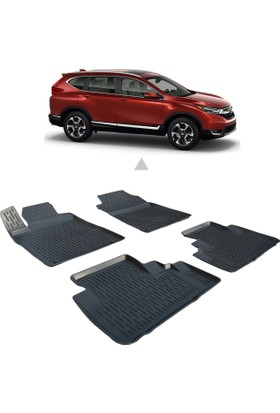 Otom Honda Cr-V 2012-Sonrası Araca Özel 3D Paspas