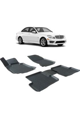 Otom Mercedes W204 C Serisi 2008-2015 Arası Araca Özel 3D Paspas