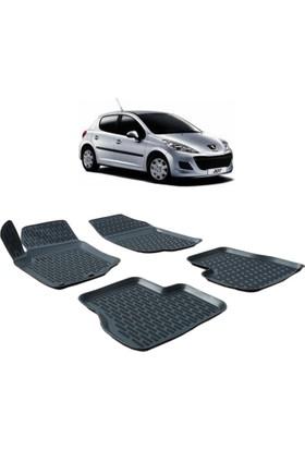 Otom Peugeot 207 2006-2013 Arası Araca Özel 3D Paspas