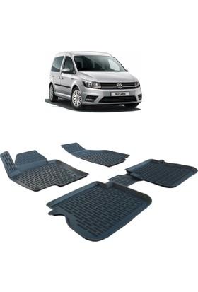 Otom Volkswagen Caddy 2010-Sonrası Araca Özel 3D Paspas