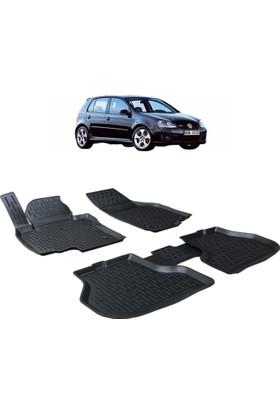 Otom Volkswagen Golf 5 2003-2009 Arası Araca Özel 3D Paspas