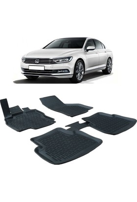 Otom Volkswagen Passat B8 2015-Sonrası Araca Özel 3D Paspas