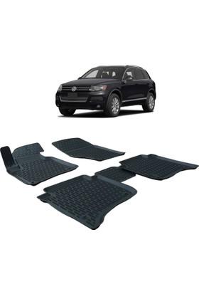 Otom Volkswagen Touareg 2011-Sonrası Araca Özel 3D Paspas