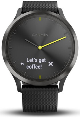 Garmin Vivomove HR Siyah Akıllı Saat