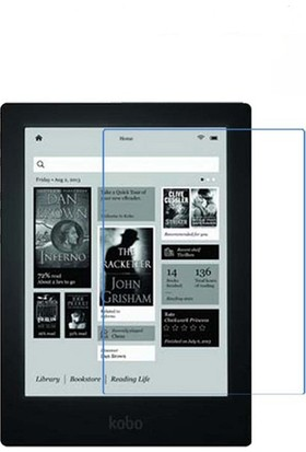 Kobo 6.8 İnç E-kitap Okuyucu Ekran Koruyucu Film ve Stylus Dokunma Kalemi