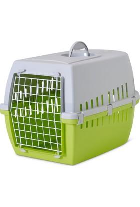 Savic Trotter (3) Retro A.Yeşil Kedi Ve Köpek Taşıma Kafesi