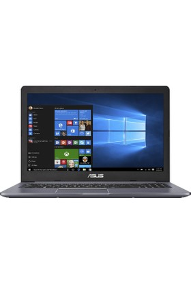 "Asus N580VD-DM516T Intel Core i7 7700HQ 16GB 1TB + 128GB SSD GTX1050 Windows 10 Home 15.6"" FHD Taşınabilir Bilgisayar"