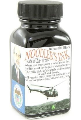 Noodlers Şişe Mürekkep Bernanke Black 3 Oz 19066