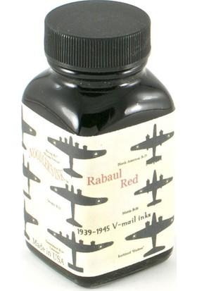 Noodlers Şişe Mürekkep Vmail Rabaul Red 3 Oz 19058