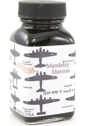 Noodlers Şişe Mürekkep Vmail Mandalay Maroon 3 Oz 19057
