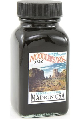 Noodlers Şişe Mürekkep Navajo Turquoise 3 Oz 19029