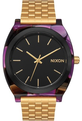 Nixon Time Teller Acetate Multi / Gold - Kadın Kol Saati