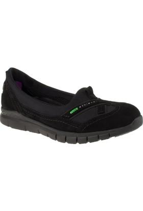 Forelli 29401 Bağcıksız Comfort Siyah Kadın Ayakkabı