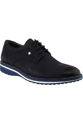 Fosco 8071 Bağlı Klasik Lacivert Erkek Ayakkabı