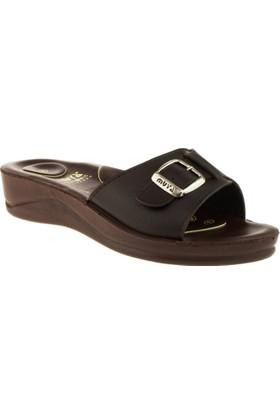 Muya 0068 Comfort Kahverengi Kadın Terlik