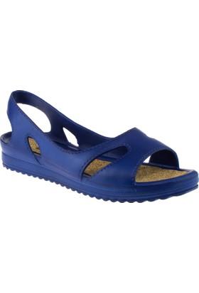Muya 92140 Mantar Taban Lacivert Kadın Sandalet