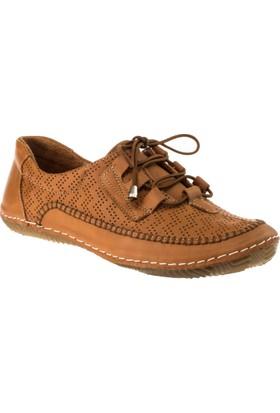 Stella 18022 Bağlı Günlük Taba Kadın Ayakkabı