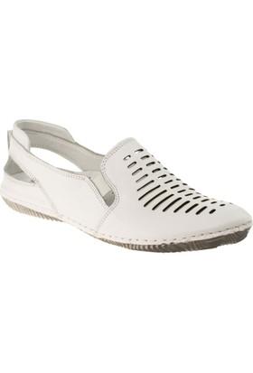 Stella 18024 Bağsız Günlük Beyaz Kadın Ayakkabı