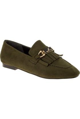 Stella 18139 Bağsız Günlük Yeşil Kadın Ayakkabı