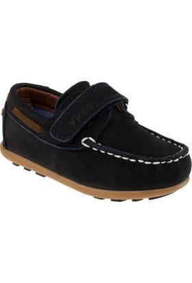 Vicco 910.18Y.304 Deri Tek Cırt Lacivert Çocuk Spor Ayakkabı