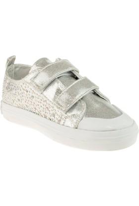 Vicco 969.18Y.672 Çift Cırt Gümüş Çocuk Ayakkabı