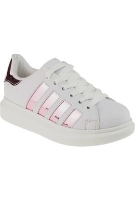 Vicco 970.18Y.645 Bağlı Beyaz Çocuk Ayakkabı