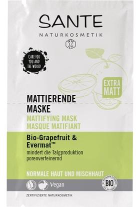 Sante Organik Greyfurt & Evermat Matlaştırıcı Maske 2x4 ml.
