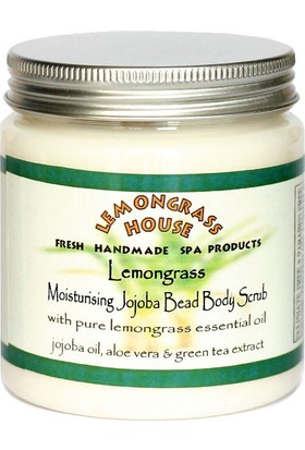Lemongrass House Nemlendirici Jojoba Tanecikli Vücut Peelingi - Lemongrass 300 gr.